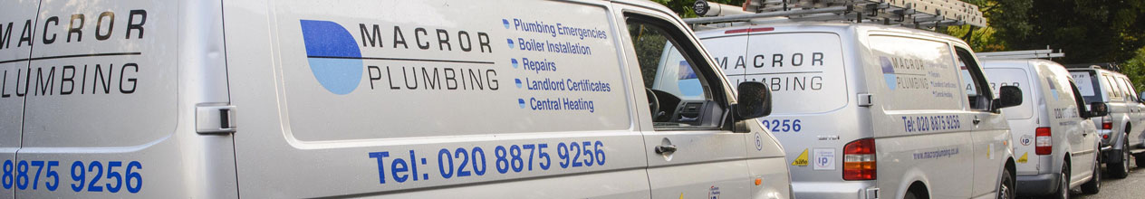 macror plumbing vehicles southwest london plumber