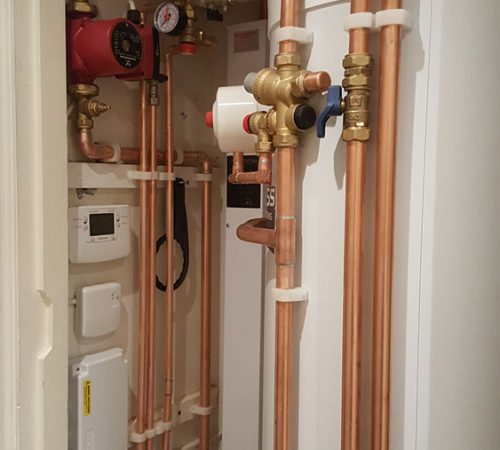 New Electric Boiler with Unvented Cylinder and Traditional Radiators